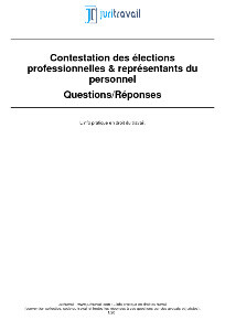 Comment Contester Annuler L Election Des Delegues Du Personnel