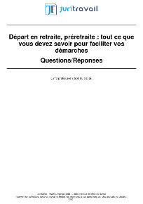 Preparer Sa Retraite Age De Depart Procedure Pension Recours