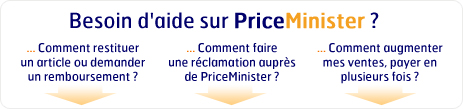 Besoin d'aide sur PriceMinister