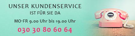 Kundenservice - Rufen Sie uns an!