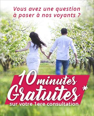 Voyance Amour: profitez de 10 minutes offertes pour votre 1ère consultation