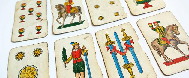 Carte napoletane asso di denari for Due di bastoni carte napoletane